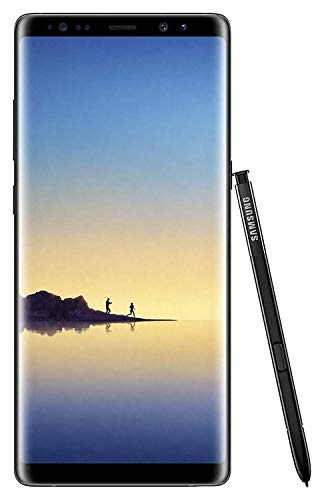 (Samsung Galaxy Note 8 N950U 64GB Unlocked GSM 4G LTE Android Smartphone w/Dual 12 MegaPixel Camera (Certified Refurbished) (Midnight Black))