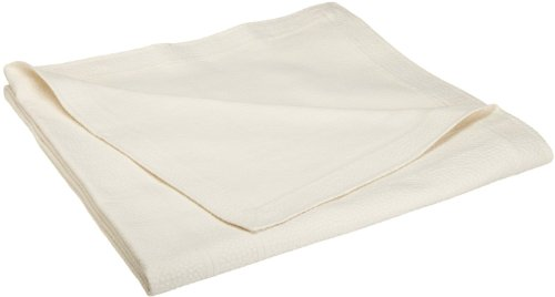 UPC 612621093950, Peacock Alley 100-Percent Egyptian Cotton Montauk Coverlet, Twin, Pearl