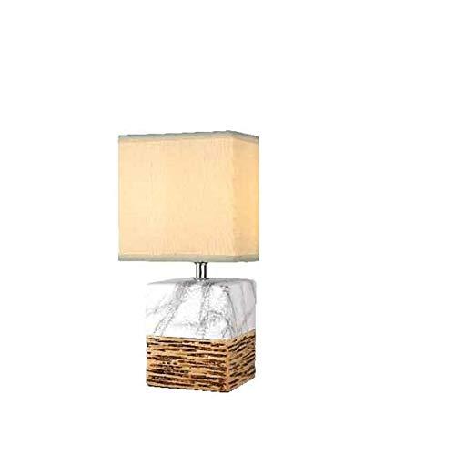 biorausch Porcelana - Lámpara de Mesa con Pantalla lámpara mármol ...