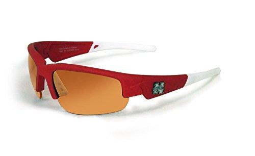 Nebraska Cornhuskers Sunglasses - Dynasty 2.0 Red with White - Sunglasses Nebraska