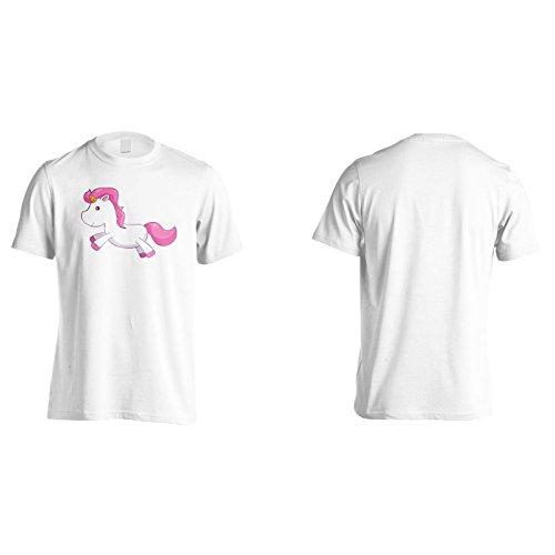 Neue Träume Nettes Einhorn Herren T-Shirt m210m