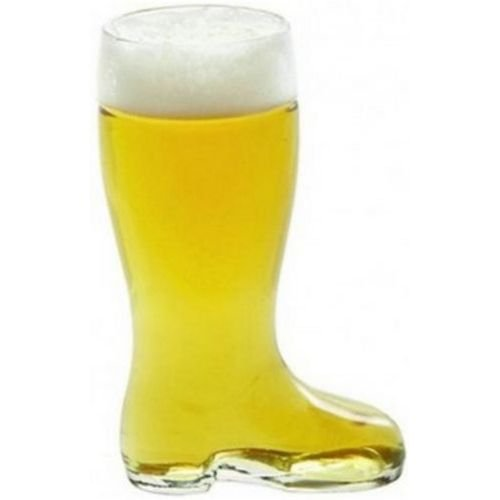 Stolzle Biersiefel Beer Boot Glass, 35 Ounce -- 6 per case. by Oneida