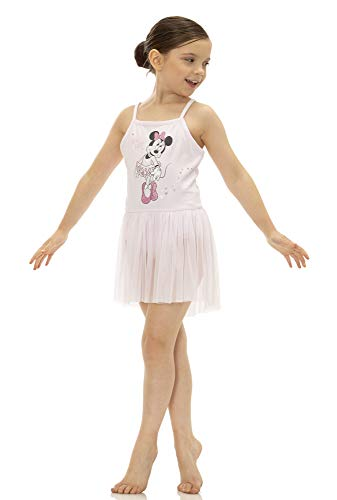 - Disney Princess Little Girls' Ballet Minnie Mouse Pink Camisole Dress (5)