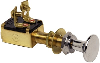 Momentary Pull Switch, 2 terminal
