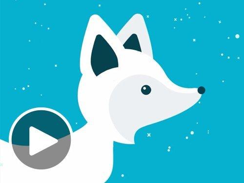 Holiday Fox - Animated eGift Card