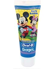 Oral-B Toothpaste 0-6 Years 75ml Pro-Expert Stages Berry Bubble (Mickey)