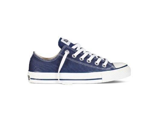 Converse Unisex Chuck Taylor All Star Low Top Navy Sneakers - 9.5 B(M) US Women / 7.5 D(M) US Men
