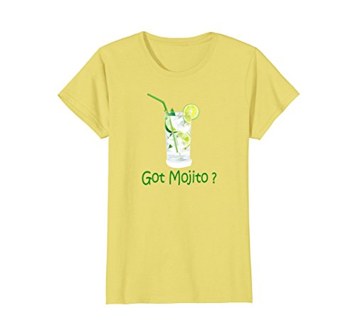 Womens GOT MOJITO? T-Shirt - Funny Cocktail Bar Shirt - relaxed fit Small (Cheers Highball)