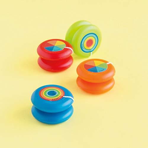 Unique Party 84793 - Jouets pour Pochette Cadeau - Yo-Yo en Plastique - Paquet de 4