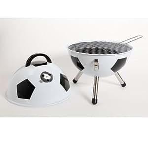 Gibson Soccerball Negro, Color blanco - Barbacoa (Negro, Blanco, Alrededor)