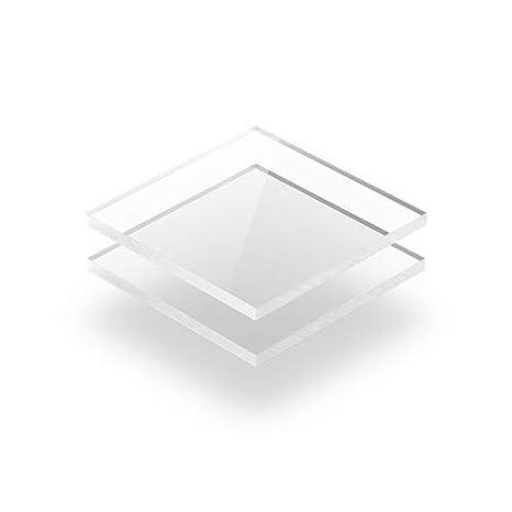 2mm im Zuschnitt 100 x 100 mm 10 x 10 cm Acrylgas XT Platten//Acrylglasplatten XT Transparent Kunststoffplattenonline.de