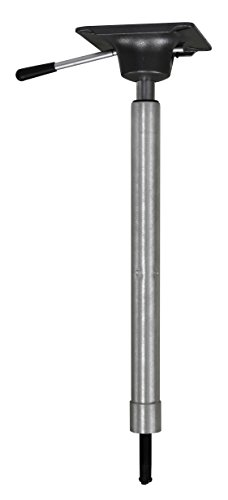 Wise 8WD2002 King Pin Power Rise Pedestal, Adjustable 22.5 to (Adjustable Leaning Post)