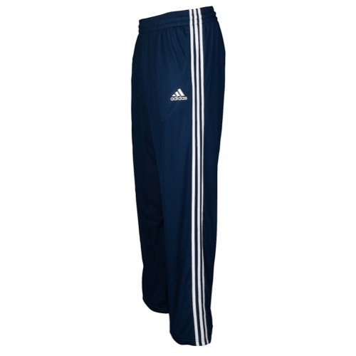 adidas Performance Men's Basketball New Double Up Pants, Collegiate Navy/Dark Onix, ()