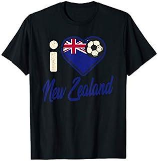 New Zealander Football  New Zealand Football Soccer T-shirt | Size S - 5XL