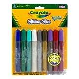 Crayola Glitter Glue, 9-Count