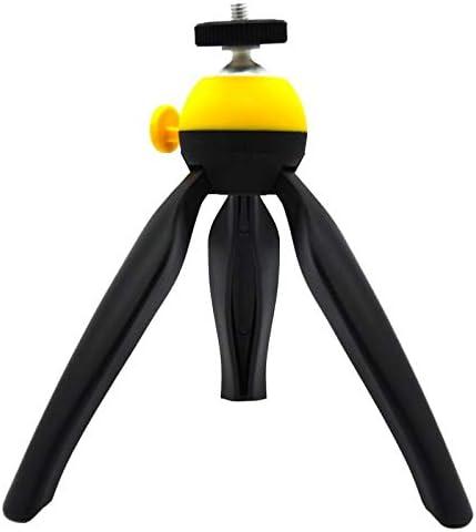 Bobioy Phone Tripod Camera Stabilizer Desktop Tabletop Stand Holder with Bluetooth Remote Shutter Gopro Adapter for Cameras /& Smartphone /& Gopro