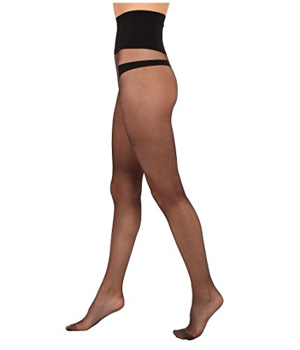 (Commando Women's The Keeper Sheer Tights, Black, Small)