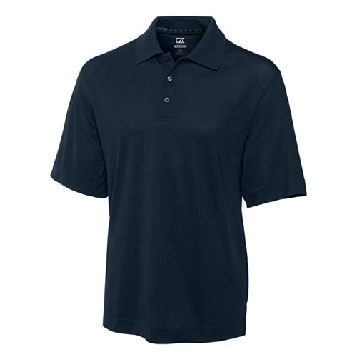 Cutter & Buck Men's CB Drytec Championship Polo, Navy Blue, (Rams Performance Team Polo)
