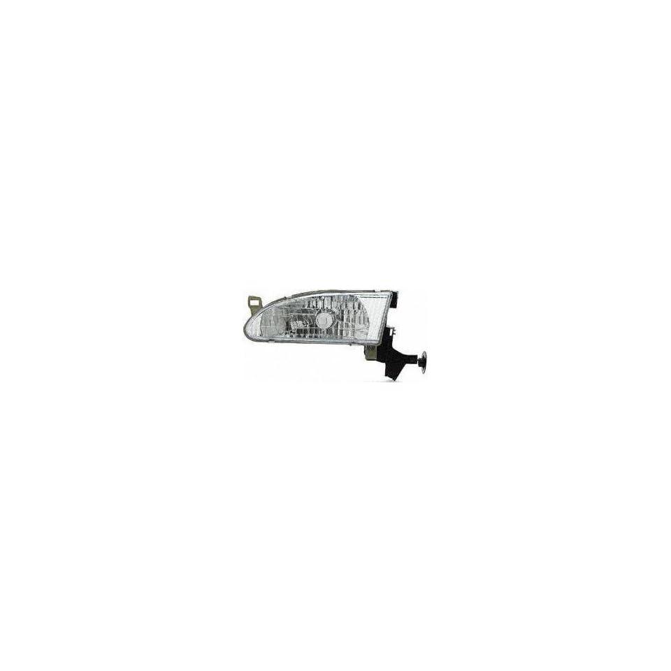 98 00 TOYOTA COROLLA HEADLIGHT LH (DRIVER SIDE) (1998 98 1999 99 2000