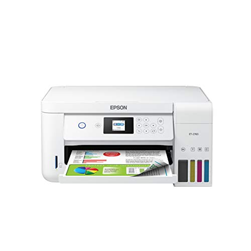 Epson EcoTank ET-2760 Wireless Color All-in-One Cartridge-Free Supertank Printer with Scanner and Copier from Epson