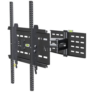 Black Levelmount - Level Mount Dc55mc Tv Wall Mount - For Tv - 26 To 55 Screen Support - 150 Lb Load Capacity - Stee