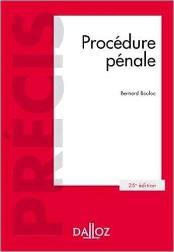 Download Online Procédure pénale - 25e éd. pdf ebook