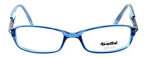3.50 Boll/é Elysee Lightweight /& Comfortable Designer Reading Glasses 50mm in Crystal Blue
