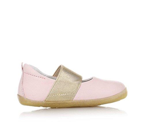 Bobux Mädchen Su Demi Ballet Shoe Shimmer Geschlossene Ballerinas Elfenbein (Blush)