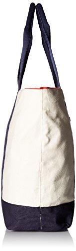 Tommy Hilfiger, Borsa a spalla donna beige Natural/Navy