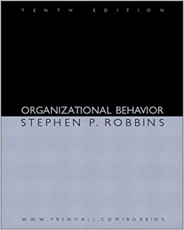 "organizational behavior concepts self analysis Our fifteen chapters are written using a ""modular"" format with self-contained  sections that can  tom peters is a management expert who talks about the  concept of individuals thinking of  what are the three key levels of analysis for  ob 4."