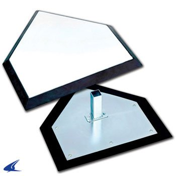 Champro Pro Style Home Plate Individual Box (White) by CHAMPRO