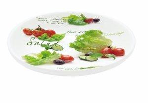 Salatteller-Set - Porzellan - 4 Stück - im Geschenkkarton