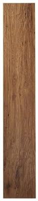 Achim Home Furnishings VFP2.0MO10 3-Foot by 6-Inch Tivoli II Vinyl Floor Planks, Medium Oak, 10-Pack