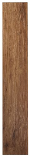 Achim Home Furnishings VFP2.0MO10 3-Foot by 6-Inch Tivoli II Vinyl Floor Planks, Medium Oak, 10-Planks ()