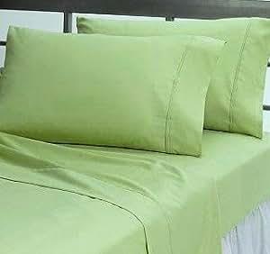 Egipcio bedding- 500hilos 4pc adjunto cama juego de sábanas UK doble sabio sólido 100% algodón egipcio