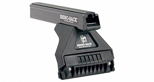 (Rhino Rack 1993-1994 Land Rover Defender 110 4dr 4wd Heavy Duty RL210 Silver 4 Bar Roof Rack JA0919)