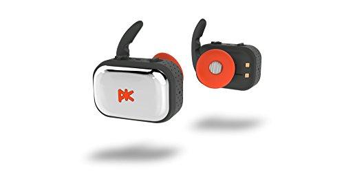 Pkparis K'ASQ - Fully Wireless Bluetooth Earbuds (Cordfree Fitness Sport) - Grey