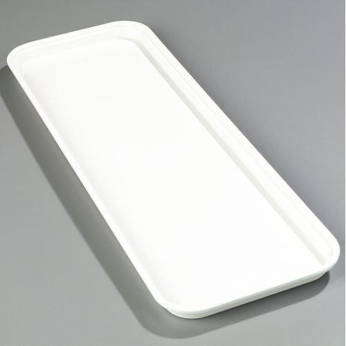 Pearl White Fiberglass Heavy Duty Market Tray - 1 - Fiberglass Market White Display Trays