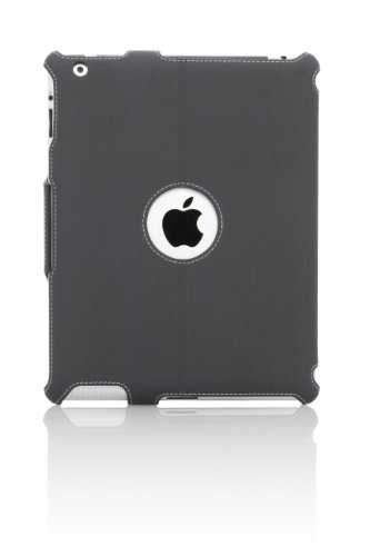 Targus Vuscape Case and Stand for iPad 3 and iPad 4th Generation, Charcoal Gray (THZ15702US)