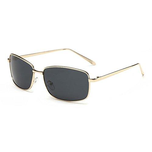 Metal Graygoldbox Des Polarized Conduisant Homme Mode De Lunettes UV400 Sun aqfwPP1pt