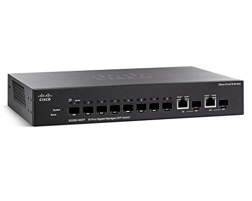 Cisco SG300-10SFP-K9 10-Port Gigabit Managed SFP Switch by Cisco