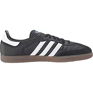 adidas Originals Men's Samba OG Sneaker Black/White/Gum 6