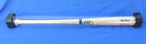 Protech Deluxe Hard Crystal Clear Acrylic Baseball Bat Displ