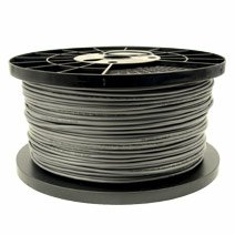 C2G/Cables to Go 32267 Conductor Foil Shield PVC 24AWG Cable Bulk (1000 Feet, Charcoal) by C2G