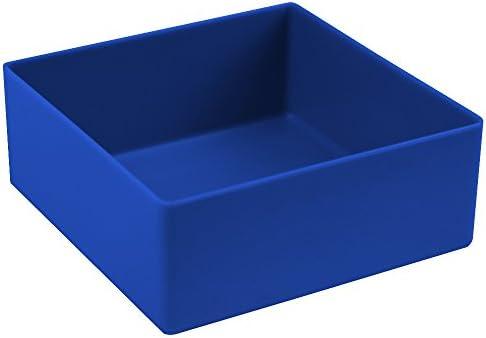 Sparpack 50 Stück Universal-Sortierkästen, blau, Abm. ca. 10x10x4 cm (LxBxH)