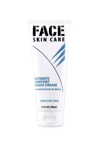 Ultimate Comfort Shaving Cream for Sensitive Skin, 3.4 Oz Travel Tube Lab Series Alternative