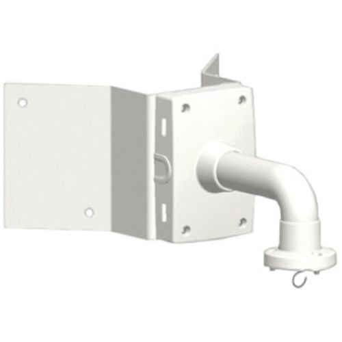 Axis Communications T91A64 Corner Bracket for T91A61/T95A61 Wall Bracket/Q6032-E PTZ Dome Network Cameras, White