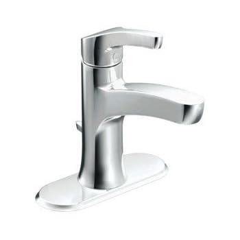 Moen L84733 Single Handle Single Hole Bathroom Faucet from