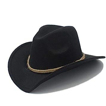 Gorra de Fedora Mujeres Gorra Vaquera Occidental para Señoras de ...