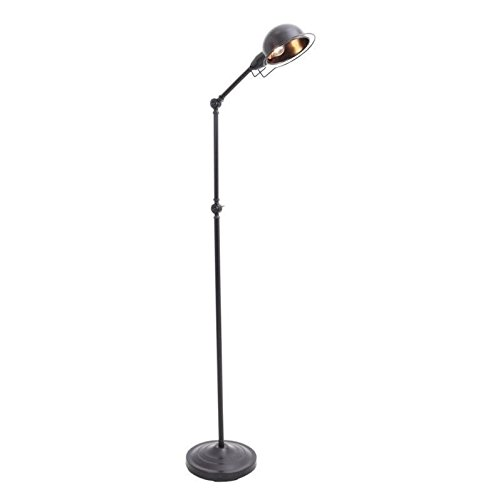 Lumisource Lamp Black Floor (WOYBR LS-L-BANKFL ANT Metal Material, Banks Floor Lamp)